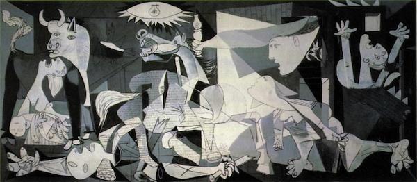 Pablo Picasso Cuvée Guernica 1937 - une véritable oeuvre d'art
