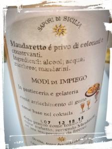 Il manque le soleil sicilien dans la liste des ingrédients...