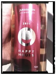 La cuvée Happy Hours 2011 de Charles Hours - Clos Uroulat - AOP appellation Jurançon doux