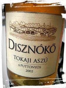 Tokaji Aszú 6 (six) Pottonyos 2002 du domaine Disznókö - Hongrie