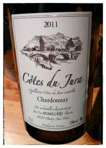 Côtes du Jura Chardonnay 2011 Jean-Luc Mouillard