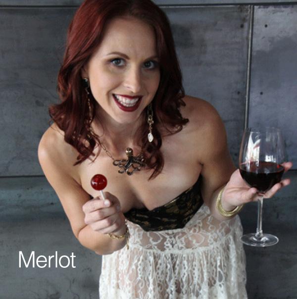 Sucettes au goût Merlot...