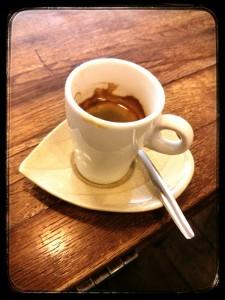 Tasse expresso - Café Verlet - Paris 1er