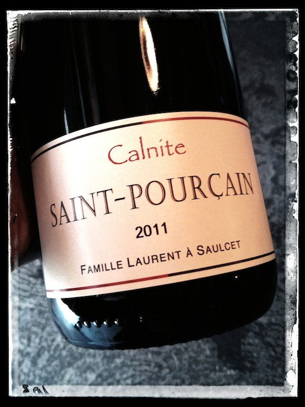 Domaine Laurent - Saint-Pourçain - rouge cuvée Calnite