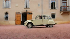A Year in Burgundy - La 2 CV