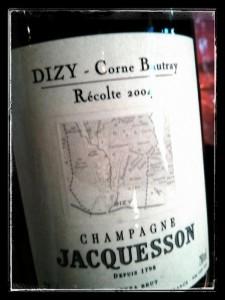 Champagne Jacquesson - Cuvée Dizy 2004