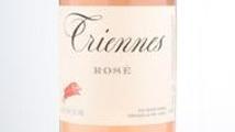 Domaine Triennes Rosé de Provence étiquette label