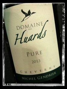 Michel Gendrier Domaine des Huards Cheverny Pure 2013