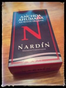 Anchois fumés Nardin