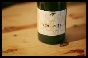 Étiquette Côte-Rôtie Corps de Loup 2007