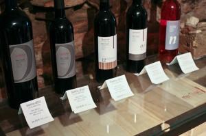 Gamme des vins du Mas Sibert à Fos, Hérault - cuvée Saramon, Armélot, Fosénot et Soléno
