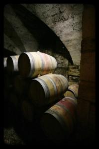 Chai à barriques du Mas Belles Eaux, Caux, Languedoc
