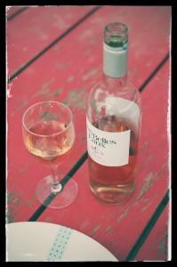 Le rosé du Mas Belles Eaux, Caux, Languedoc