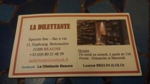 Bar à vin La Dilettante - Beaune