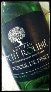 Picpoul de Pinet bio : Le Petit Roubié
