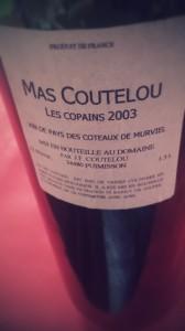 Mas Coutelou Les Copains 2003