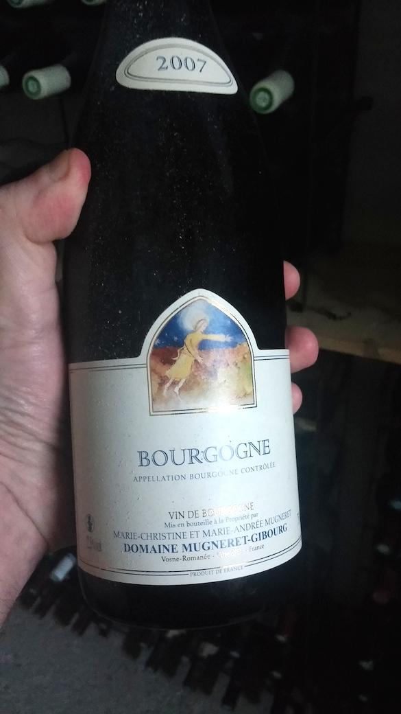 Bourgogne 2007 Mugneret Gibourg