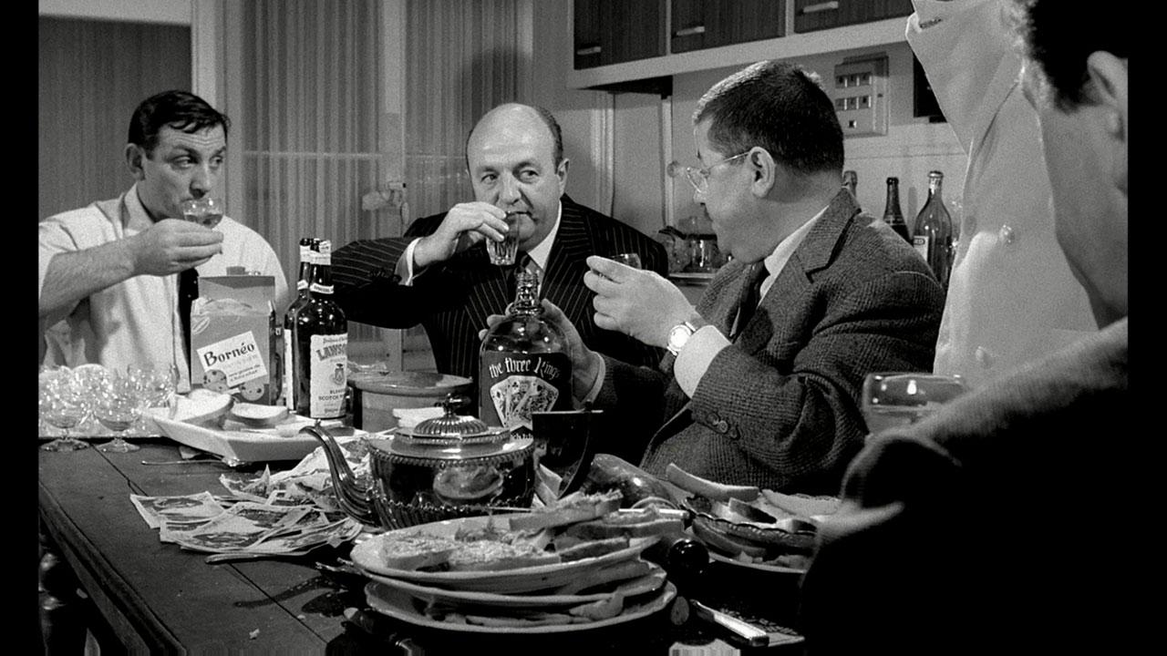 Film - Les Tontons Flingueurs - Scène de la cuisine