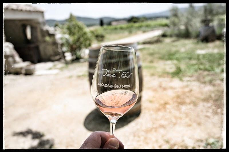 Vin rosé domaine Bonetto-Fabrol, AOP Grignan-les-Adhémar